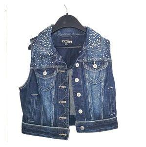 Women's Jean Denim Jacket Vest